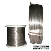 Titanium nickel shape memory alloy wires to US